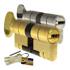 YALE Superior Thumbturn Euro Cylinder Anti-Bump Snap Defence uPVC Door Lock