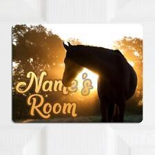 Personalised Door Name Plaque WIZARD WITCH Girl Boy Kids Bedroom Room Sign KD93