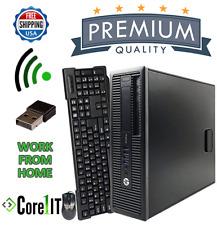 Work From Home Desktop PC HP Window 10 i7 3.4GHz 32Gb RAM 480Gb SSD 2Tb SATA HDD