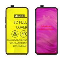 2x Schutzfolie für Xiaomi Redmi K20 Pro inkl. Rundung Flex Folie dipos Display