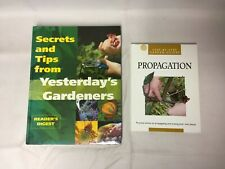 2x Garden Help Books Propagation Secrets and Tips from Yesterday's Garden