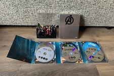 Marvel Avengers Assemble 6 Movie Collection Blu Ray Boxset- Iron Man/ Thor/ Hulk