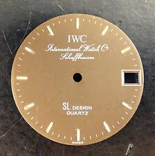 IWC Schaffhausen SL DESIGN ORIGINAL Quadrante Marrone 24 mm