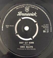 Eddie McLoyd 45' 'Baby Get Down' Modern Soul Funk Billy Nicolas Top Copy !!!