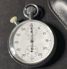 Vintage Lemania 1900 RSAF Stopwatch One Owner Estate Piece Omega NEW PICTURES