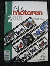 Motoren &Tourisme Book Alle Motoren 2001 inclusief Motorscooters (Nederlands)