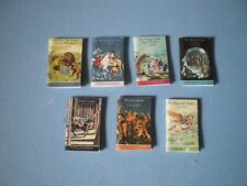 Dolls House miniatures - NARNIA BOOKS x 7