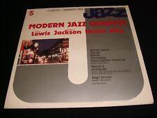 MODERN JAZZ QUARTET<>CURCIO JAZZ #5<>LP VINYL~ITALY Pressing~I GIGANTI GJ-5
