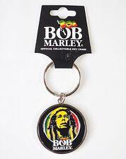BOB MARLEY - LOGO FACE KEY CHAIN - Official Licensed KEYRING - NEW
