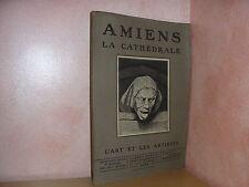 Amiens la cathédrale revue d'art des deux mondes bois original de Beltrand 1918