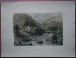 1842 Bartlett print GLENGARRIFF INN, IRELAND (#5)