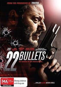 22 Bullets DVD French Action Movie - Jean Reno 2010 Kad Merad - AUSTRALIAN REG 4