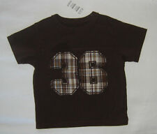 NWT: New 18 Month CHILDREN'S PLACE Brown Sports Shirt Number 36