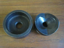 """GREENLEE 2"""" CONDUIT KNOCKOUT PUNCH & DIE 500-4062 500-4063 USED FREE SHIPPING"""