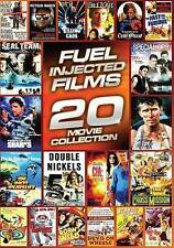Fuel-Injected Films: 20 Movies (DVD, 2013, 4-Disc Set) LIKE NEW