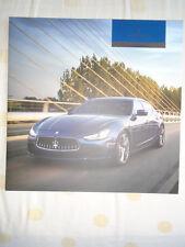 Maserati Ghibli brochure 2014