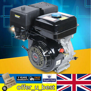 15HP 4-Stroke Gasoline Engine Motorized Motor Recoil Pull Start Forced Air Cool