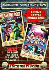 NEW DVD - Grindhouse Double -  Day Time Ended (1980) + Doomsday Machine (1972)