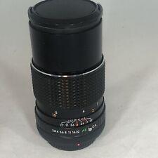 Vintage Sears Model 202 737380 F135mm 1:2.8 Auto Macro Lens For Canon Cameras