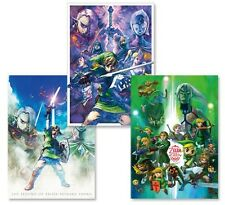 Club Nintendo The Legend of Zelda 25th Anniversary poster set BRAND NEW, SWITCH