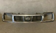 1998-2000 NISSAN FRONTIER Front CHROME GRILL SURROUND Genuine OEM Free Shipping