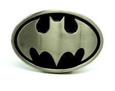 BATMAN DARK KNIGHT 3D BELT BUCKLE NICKLE BRUSHED SUPERHERO COMICS COSTUME