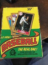 1987 O-Pee-Chee OPC WAX BOX STRAIGHT FROM CASE. BEAUTY