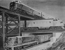 FF146 NOT RP 1954? GENERAL MOTORS LOCOMOTIVES 3 DIFFERENT DIESELS WITH #1954