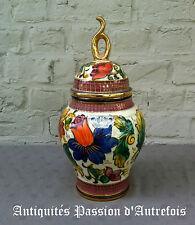 B2016331 - Vase en céramique H.Bequet - Quaregnon Belgique - 33 cm de hauteur