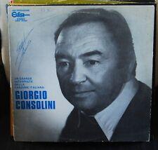 GIORGIO CONSOLINI – UN GRANDE INTERPRETE DELLA CANZONE ITALIANALP N. 2985