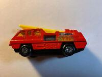 Vintage Matchbox Blaze Buster Number 22 1975 Lesney England