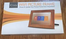 "iCozy Touch screen 10"" Wi - Fi Picture Frame-Open Box Never Used"