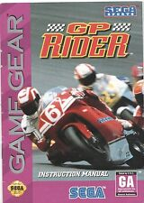 [MANUAL] Sega Game Gear GP RIDER Instruction Booklet