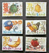 NETHERLANDS USED 2004 FRUIT & SPORTS 6 VALUE VF COMPLETE SET SC# B714 a -f