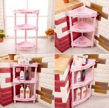3 Levels Corner Shelf Rack Hello Kitty Design Anti-Slippery Korea