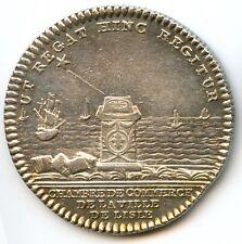 Louis XVI Chambre de Commerce de Lille Jeton argent Non daté Feuardent 7287