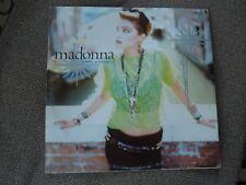 """Madonna Como Una Virgen raro alemán 12"""" SINGLE"""