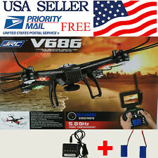 JJRC V686G 5.8G FPV Camera RC Quadcopter with Live Streaming Video Transmitter