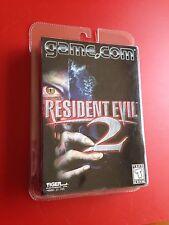 Resident Evil 2. Factory Sealed, Brand New. Tiger Game.com Handheld