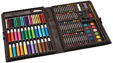 Color Drawing Art Set for Kids Crafts Kit Children Gift Darice 120 Piece Paint