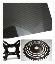 400*500*2mm 3K Twill carbon fiber sheet plate panel glossy or mattee