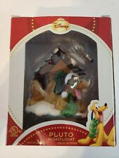 Disney Pluto Dog Christmas Nightlight, Brand New