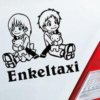 Auto Aufkleber ENKELTAXI Oma Opa Kids Kinder Sticker Familie Enkel Fun 454