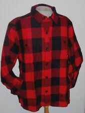 Men's Woolrich Wool Stag Jacket Red Plaid NWT $149 Washable Wool sz M L XL & 3XL