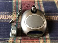 Homedics Soundspa Ss-4500 Projection Clock W/ Fm Radio & Alarm