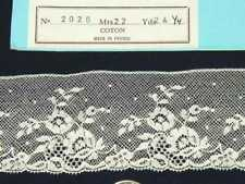 ~ LOVELY DOLL HEIRLOOM SEWING M PULLEN SMOCKING FRENCH VAL COTTON LACE OOP BTY ~