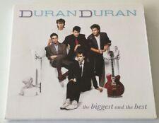 DURAN DURAN THE BIGGEST AND THE BEST 2 CD ALBUM OTTIMO SPED GRATIS SU + ACQUISTI