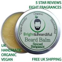 Beard Balm Big 30ml Leave-In Beard Taming Styling Natural Organic Grooming Care