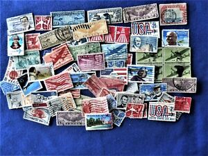 OLD AIR MAIL LOT OF 65 STAMPS