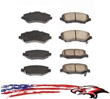 Brand New Front and Rear Ceramic Brake Pads for Jeep Wrangler 2007-2016